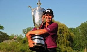 Результаты турнира по гольфу Senior PGA Championship.