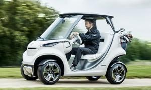 Гольф-кары будущего от Mercedes-Benz