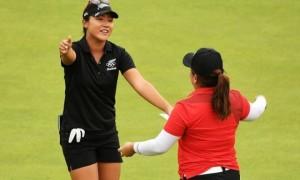 Золотая Парк и серебряная Ко. Девушки определили медалисток в олимпийском гольф-турнире