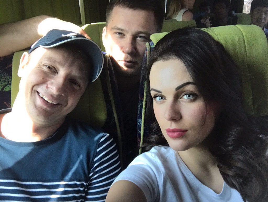 Игорь Федчик, Виталий Фролов, Мария Орлова