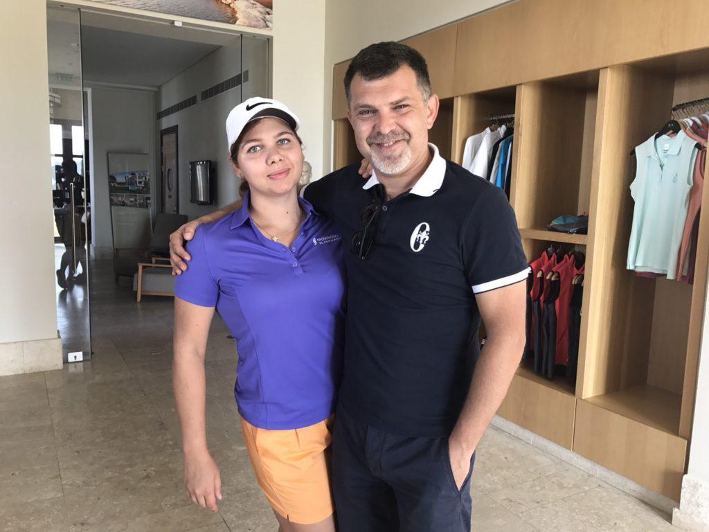 Валерия Сапронова и Олег Гребельников