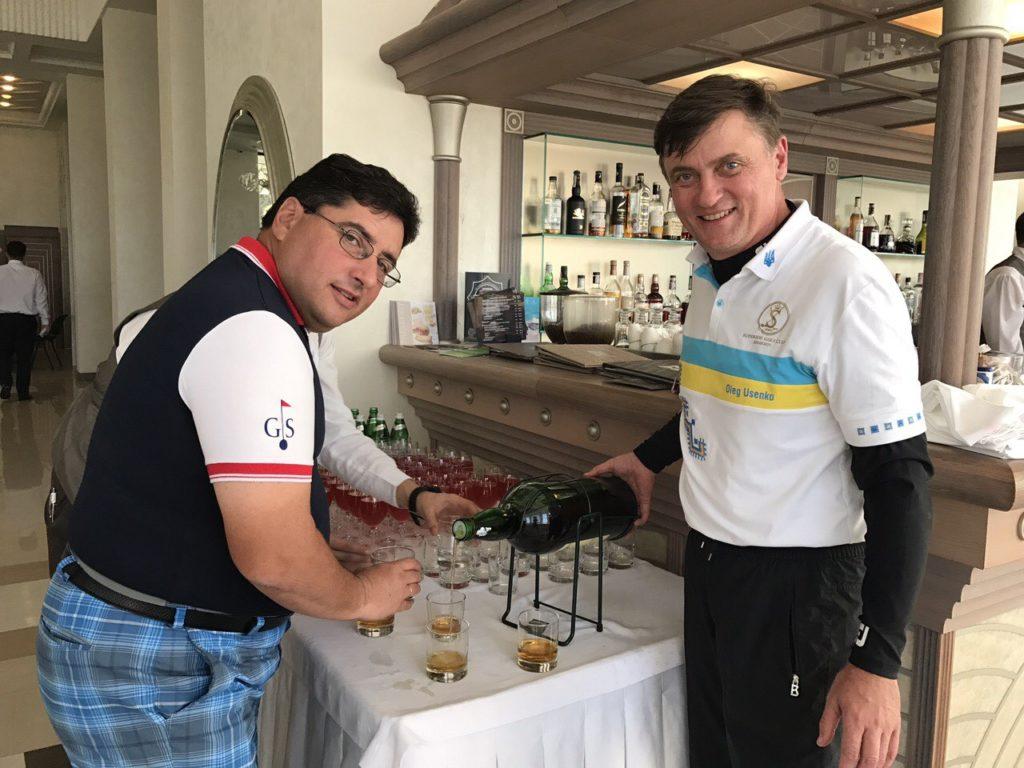 Александр Гороховский и Олег Усенко