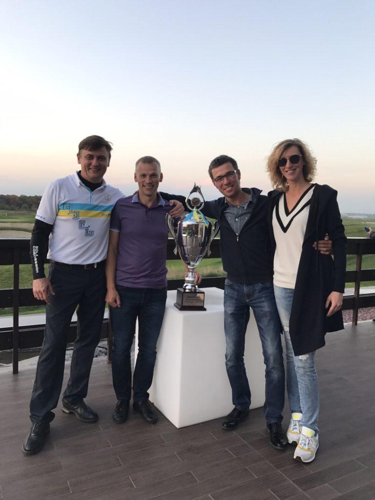 Олег Усенко, Артур Бадюк, Петр Свидерский и Ирина Редванская