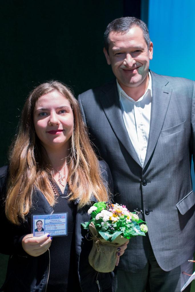Дарья Гороховкая и Олег Корбан