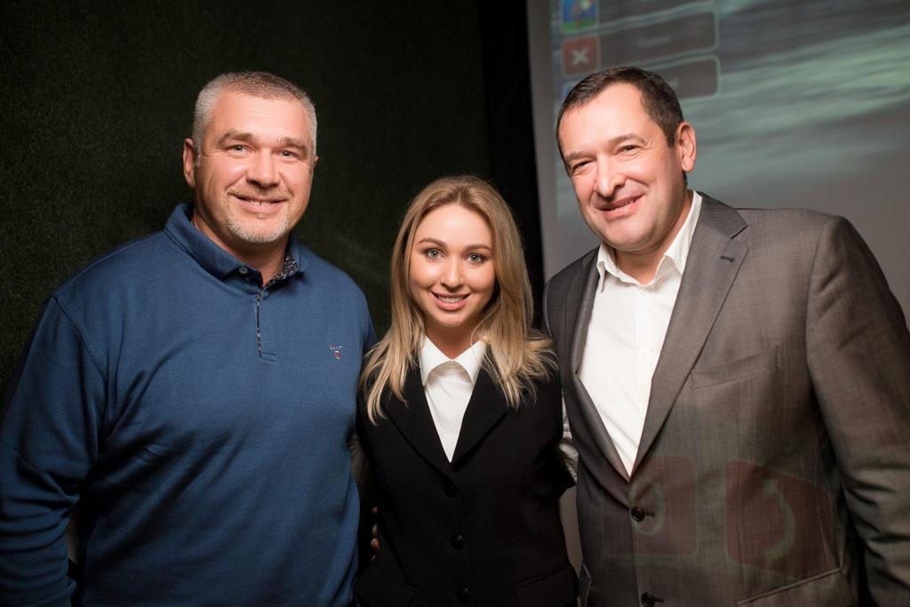 Александр Крыкун, Татьяна Рыбченко, Олег Корбан