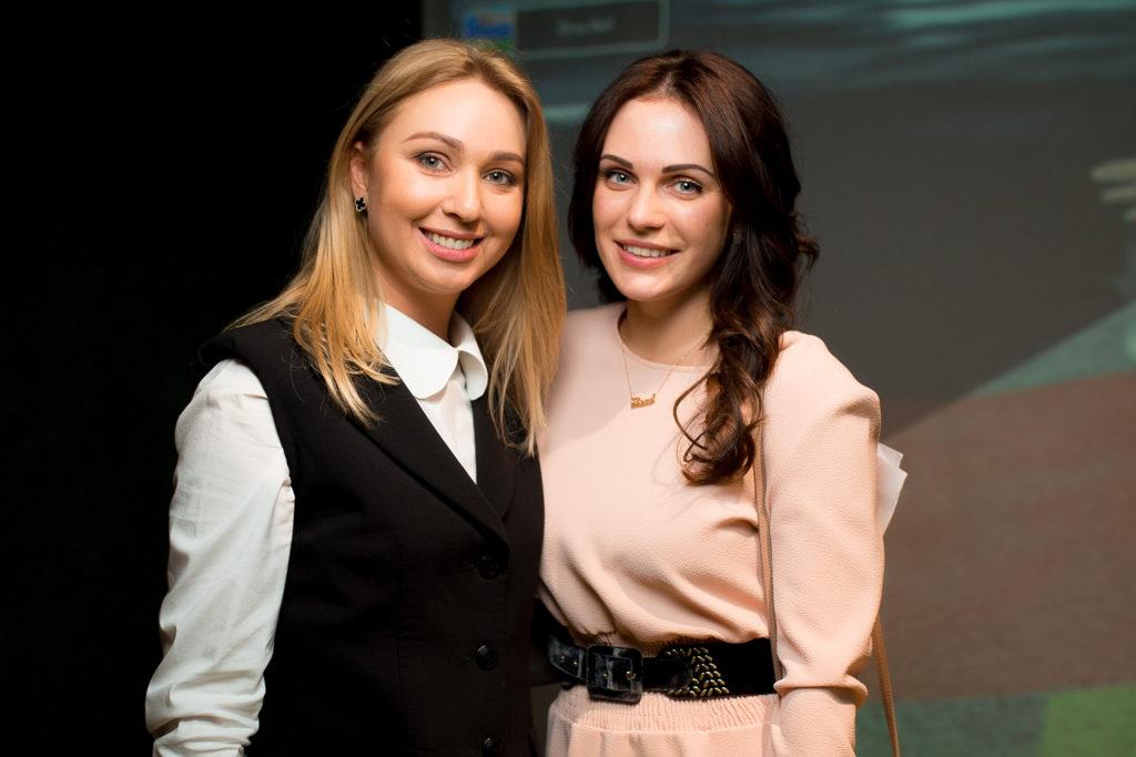 Татьяна Рыбченко и Мария Орлова