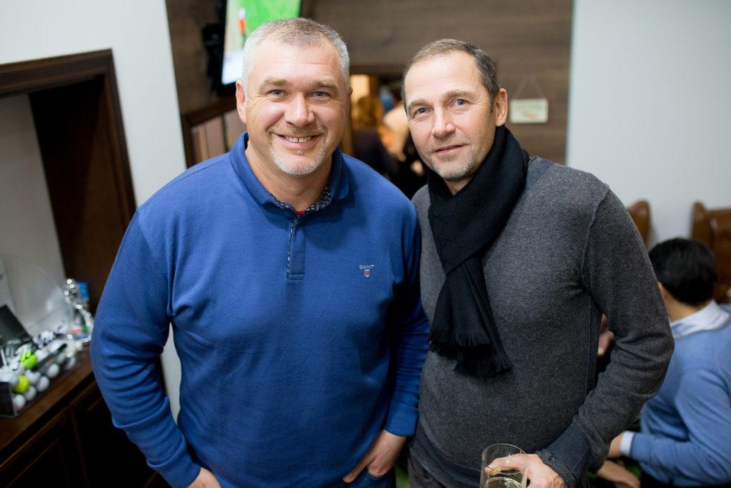 Александр Крыкун и Сергей Есипчук