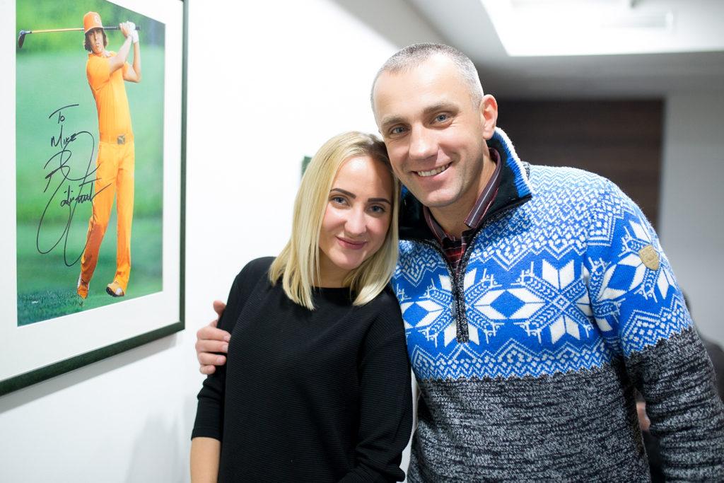 Антонина Пивоваренко и Игорь Олексин
