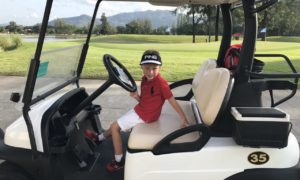 Вторая игра Ромчика на «Laguna Golf Course»