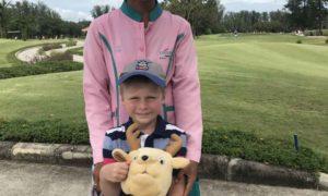 Первая игра Ромчика на Laguna Golf Course