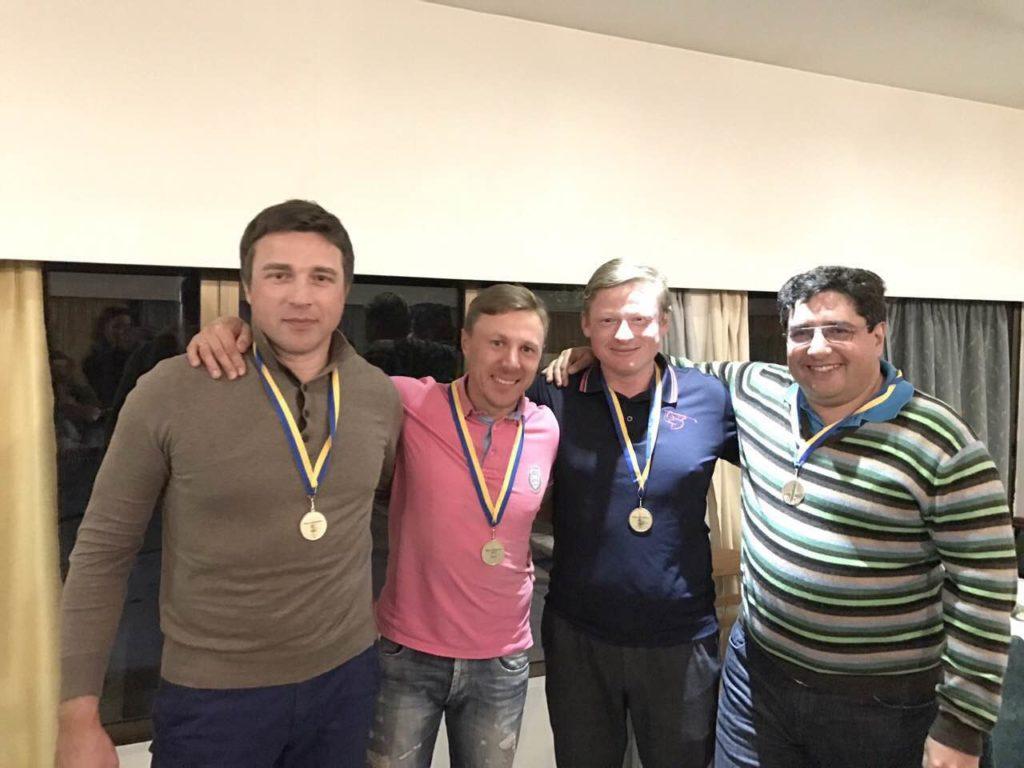 Олег Васылык, Александр Жданенко, Владимир Ващенко, Александр Гороховский
