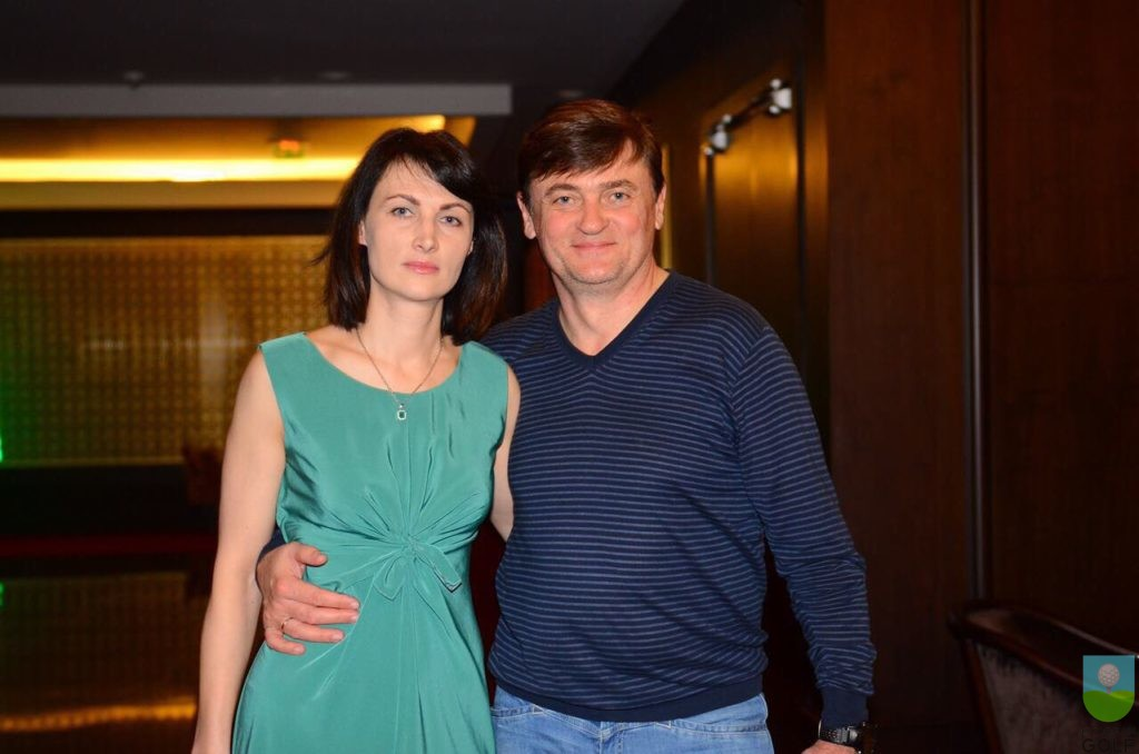 Лариса и Олег Усенко