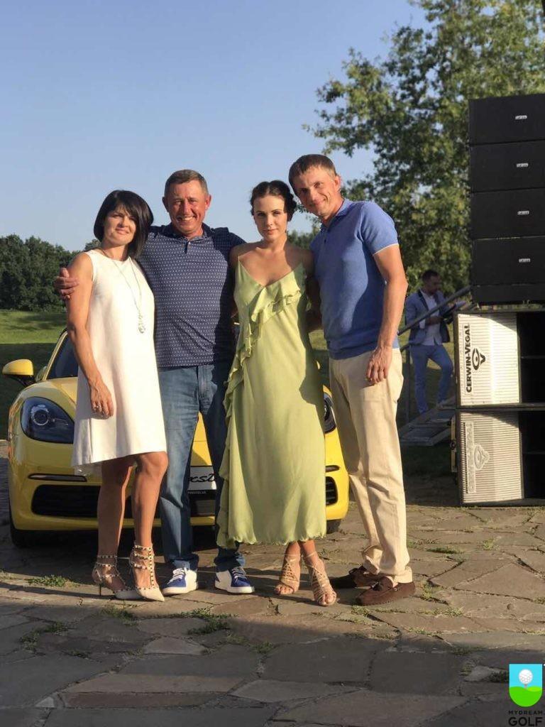 Елена и Борис Третьяк, Мария Орлова, Андрей Кулик