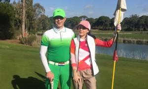 В гольфе только дружба