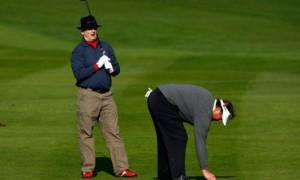 Билл Мюррей играет в гольф: 25 эпических фото