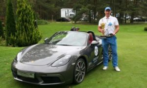 Удар на 95 тысяч евро: прибалтиец выиграл Porsche в гольф