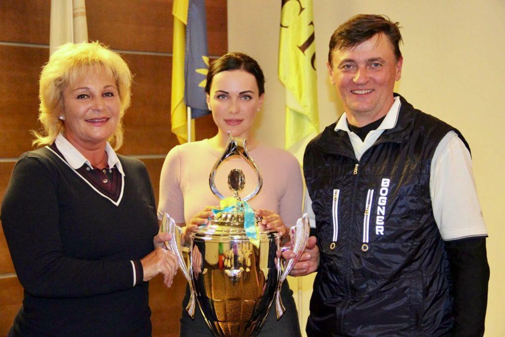 Лариса Непочатова, Мария Орлова и Олег Усенко