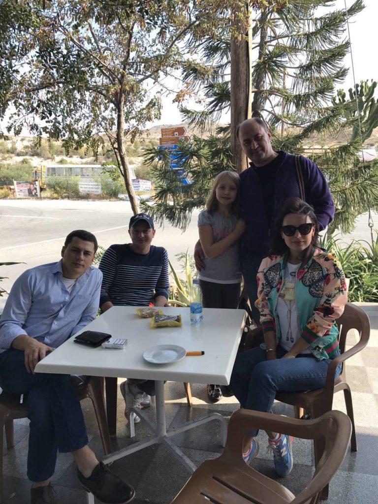 Александр Шепчинский, Игорь Федчик, Александр Гулей с дочерью, Мария Орлова м