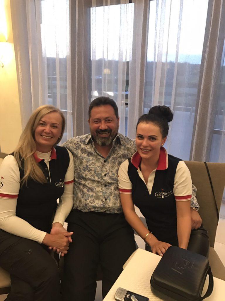 Тома Антимонова, Тимур Мустафин и Мария Орлова