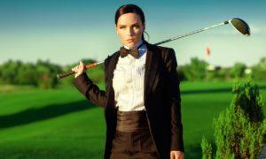 Мария Орлова стала лицом гольф-корнер в Лесниках