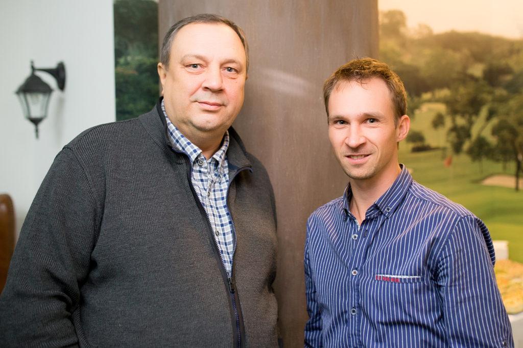 Александр Кобитев и Руслан Гаркавенко
