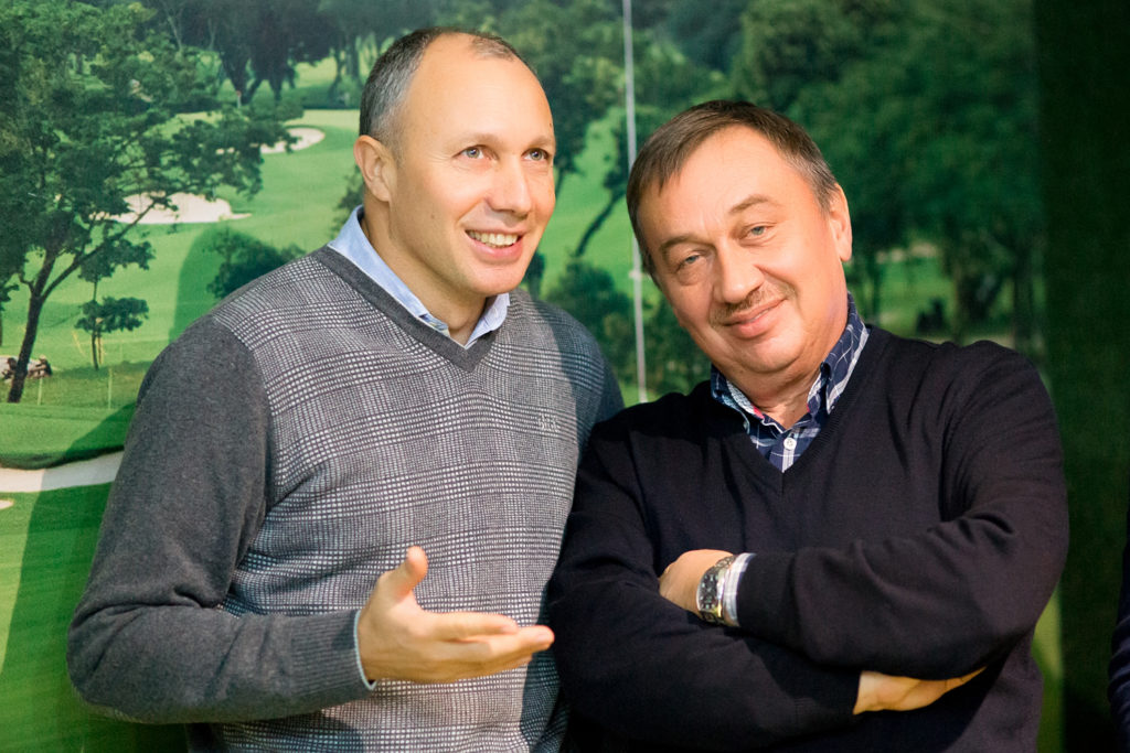 Юрий Фрейдинов и Владимир Орлов