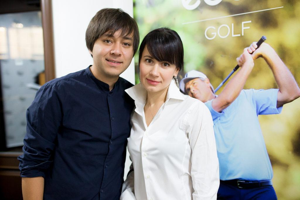 Борис Дон и Анна Бушинская