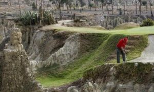 La Paz, Боливия – самый высокогорный гольф-клуб в мире