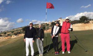 Игра на поле Elea Golf Club