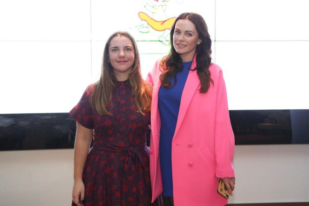 Дарья Гороховская и Мария Орлова