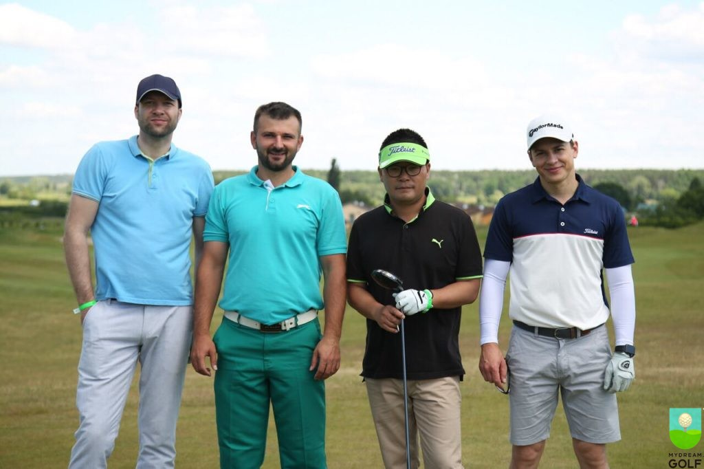 Денис Барканов, Андрей Луцкив, Ким Хеонг Шик, Александр Шепчинский