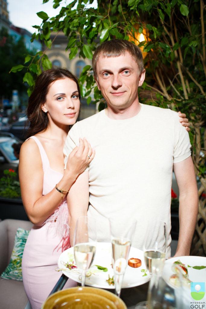 Мария Орлова и Андрей Кулик