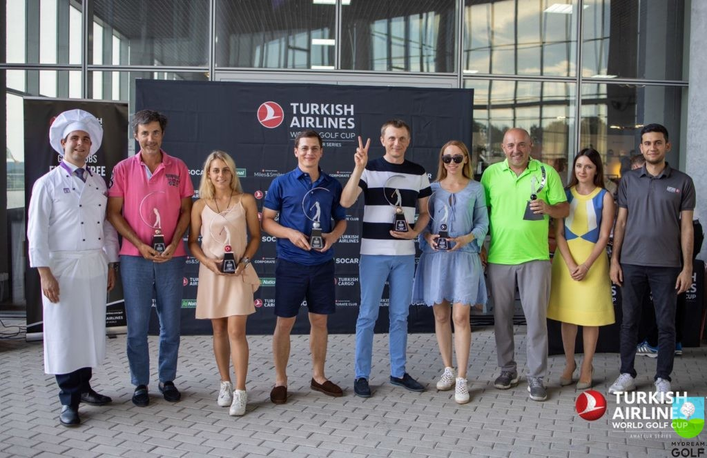 Победители Turkish Airlines Golf Cup 2019