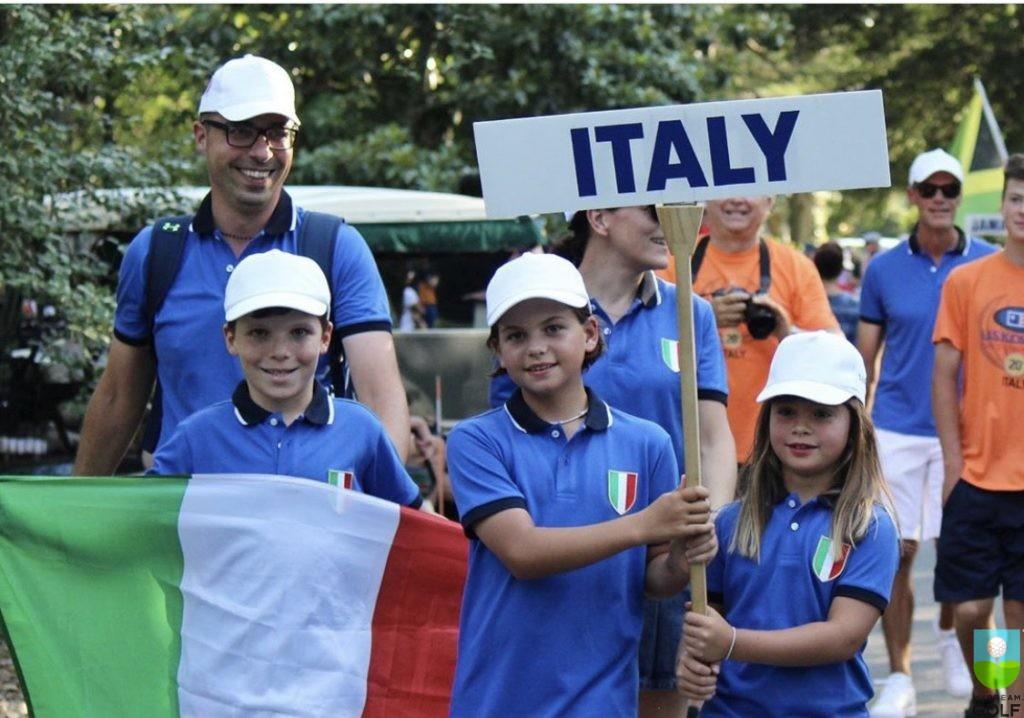 Юниоры из Италии