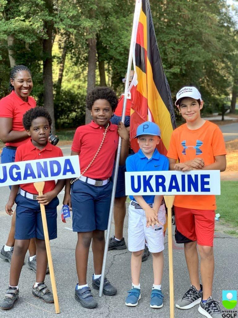 Юниоры из Уганды и Украины