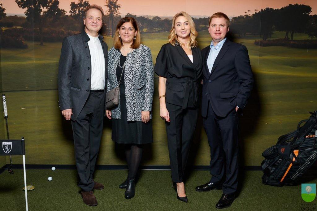 Чрезвычайный и Полномочный Посол Швейцарии в Украине Клод Вильд с женой, Татьяна и Артем Рыбченко