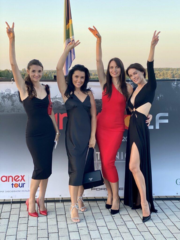 Марина Дяченко, Яна Федусив, Марийка Головко, Мария Орлова